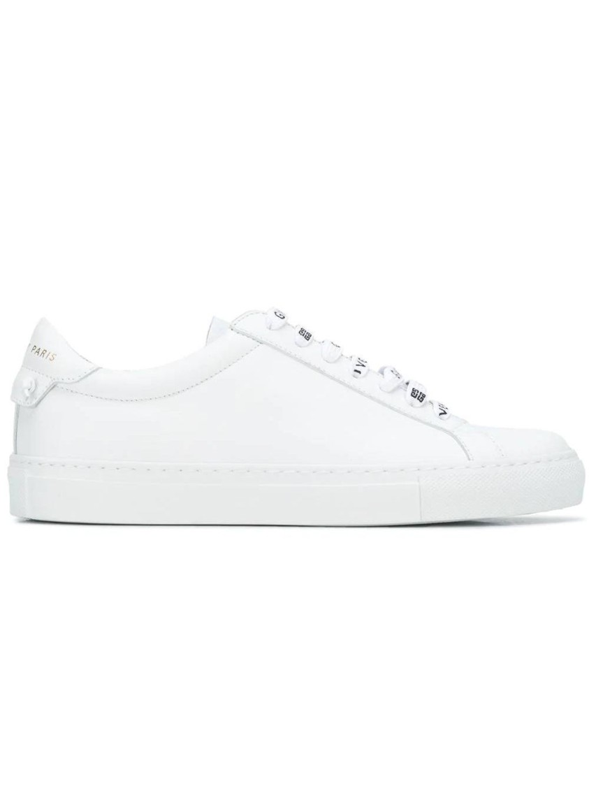 Givenchy Leathers URBAN STREET LOW-TOP SNEAKER, WHITE